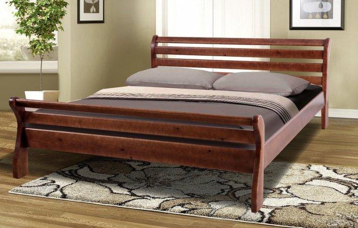 Двуспальная кровать Ретро-2 Уют 160х200 см