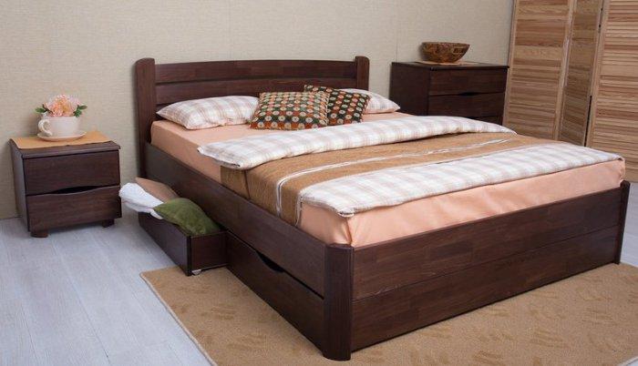 Двуспальная кровать София Мария с подъемным механизмом - 180 см