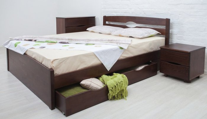 Односпальная кровать Ликерия Люкс Мария - 90 см