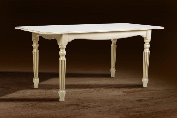 Стол обеденный Венеция 1200 (слоновая кость) Палермо