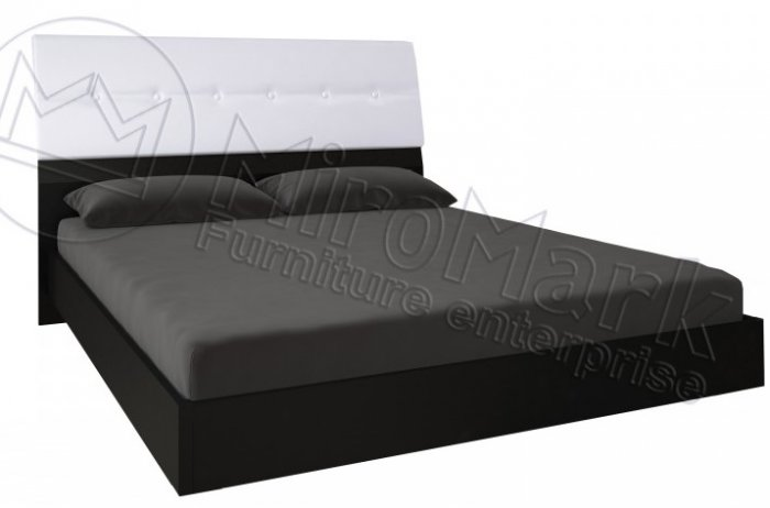 Кровать Виола мягкая спинка 140х200 см