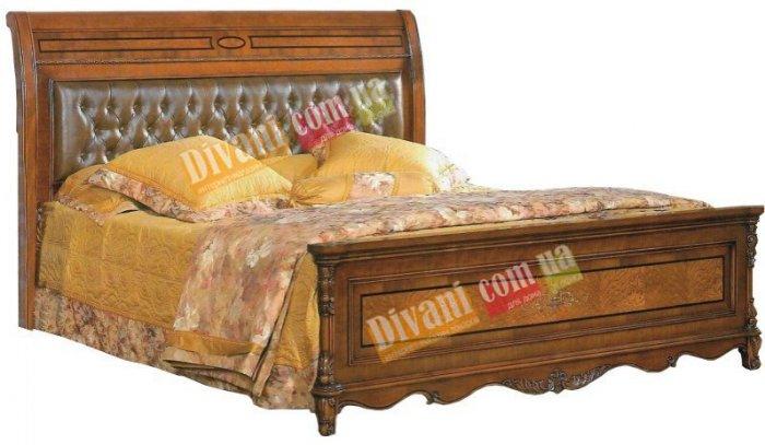 Двуспальная кровать Елизавета - 200x160см люкс