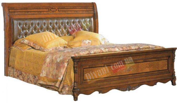 Двуспальная кровать Елизавета - 200x180см люкс