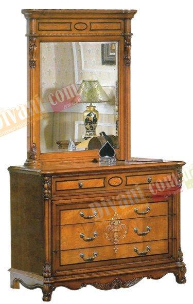 Будуарный столик и зеркало Елизавета
