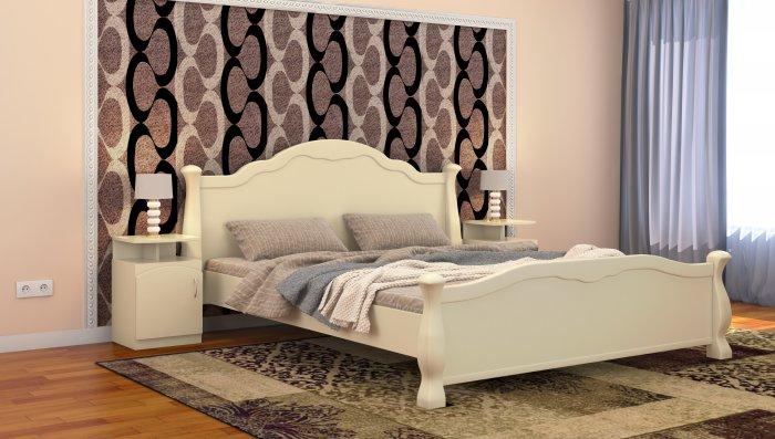 Двуспальная кровать Татьяна - 160x200см