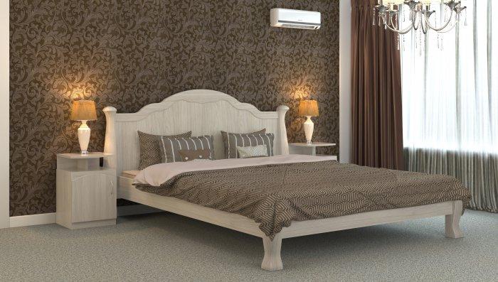 Полуторная кровать Татьяна-элегант - 140x200см
