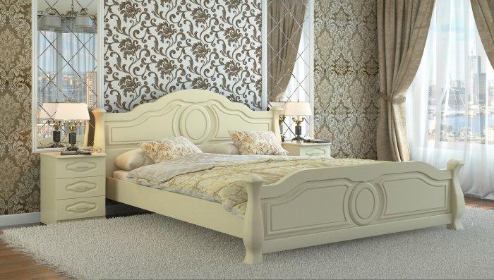 Полуторная кровать Анна - 140x190-200см