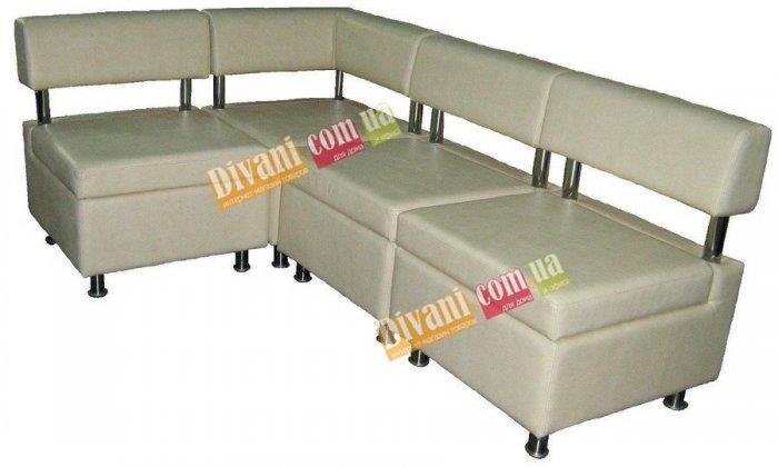 Модульный диван Домино 2 Секция А - пуф со спинкой