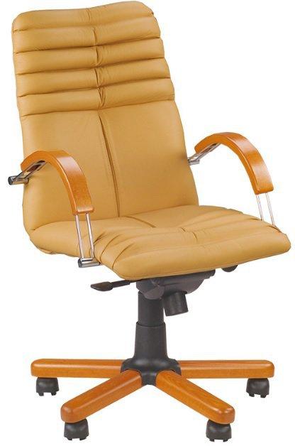 Кресло для руководителя Galaxy wood LB MPD EX1 (низкая спинка)