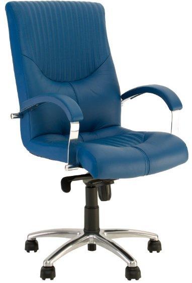 Кресло для руководителя Germes steel chrome LB (низкая спинка)