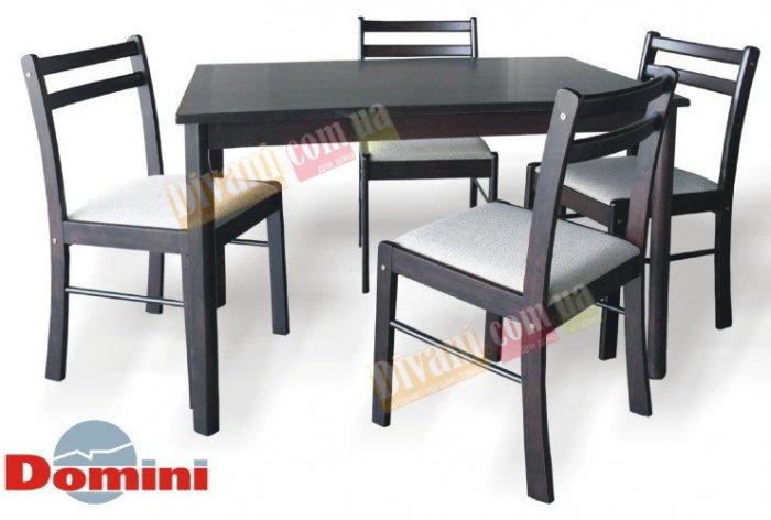 Комплект Ирма (1стол+4 стул а/венге)