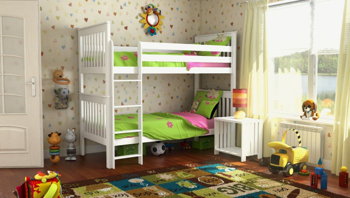 Двухъярусная кровать Жасмин Шале