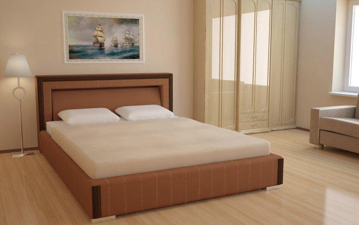 Двуспальная кровать Кларо