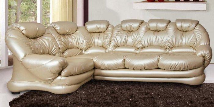 Модульный угловой диван Клеопатра