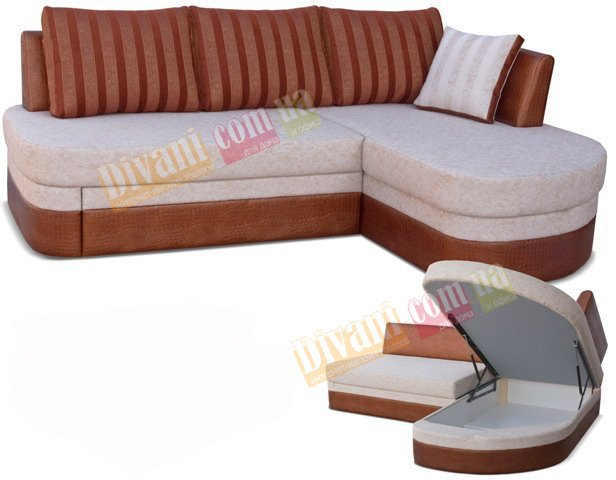 Угловой диван Тарус