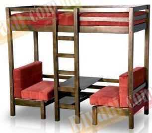 Кровать двухярусная М2 188х78 см