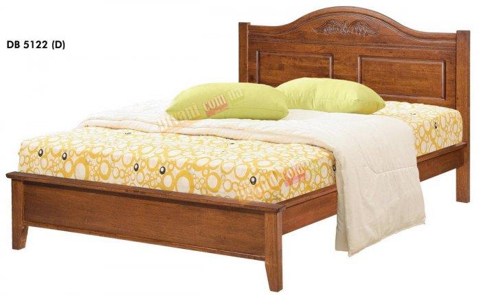 Двуспальная кровать Onder Metal Wood Beds DB 5122 200x160см