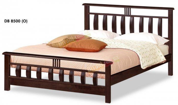Двуспальная кровать Onder Metal Wood Beds DB 8500 (O) 200x160см