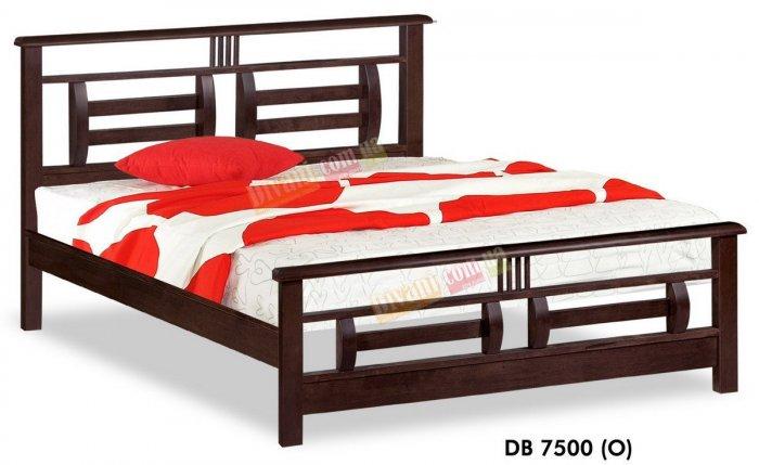 Двуспальная кровать Onder Metal Wood Beds DB 7500 (O) 200x160см
