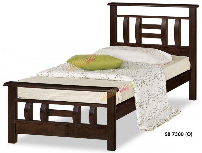 Односпальная кровать Onder Metal Wood Beds SB 7300 (O) 190x90см