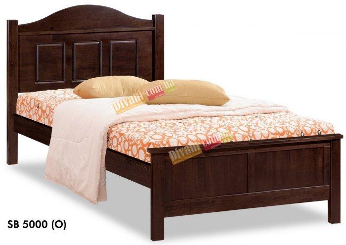 Односпальная кровать Onder Metal Wood Beds SB 5000 (O) 190x100см