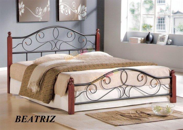 Двуспальная кровать  BEATRIZ (Беатриз) 200x160см