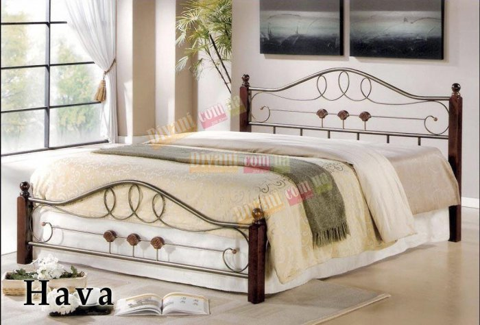 Двуспальная кровать  HAVA 200x160см