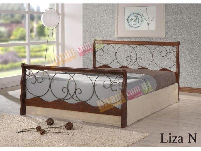 Двуспальная кровать  Liza N (Лиза Н) 200x160см