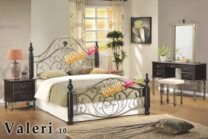 Двуспальная кровать  Valeri-10 200x160см