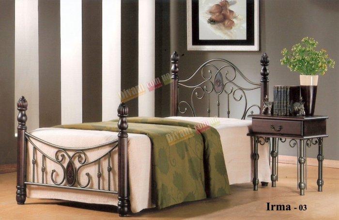 Односпальная кровать  Irma-03 (Ирма-03) 190x90см