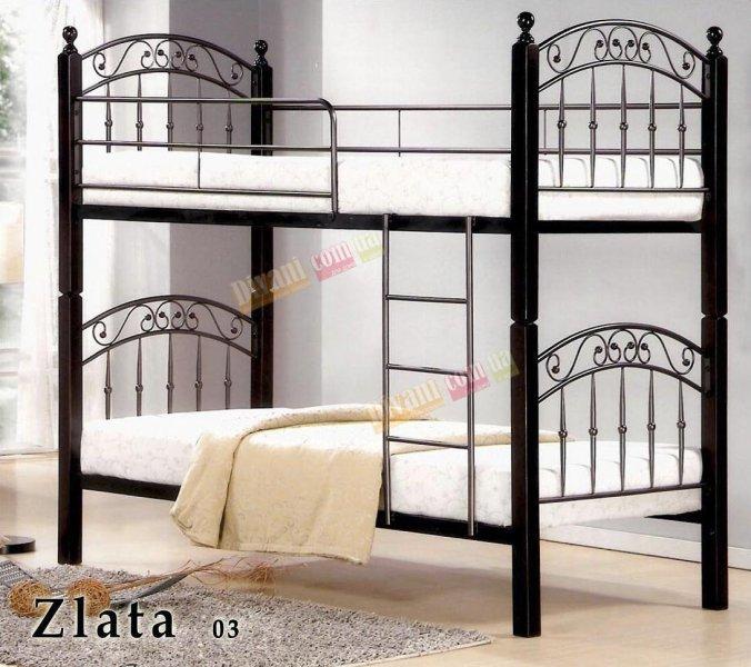 Кровать двухярусная DD Zlata-03 (Злата-03) 190x90см
