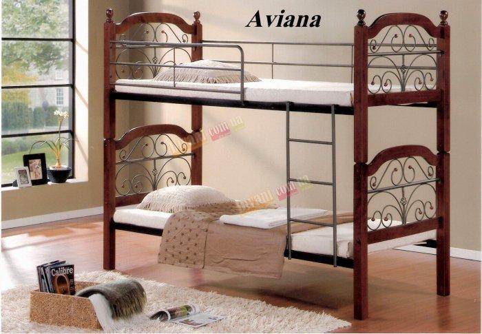 Кровать двухярусная DD Aviana (Авиана) 200x90см