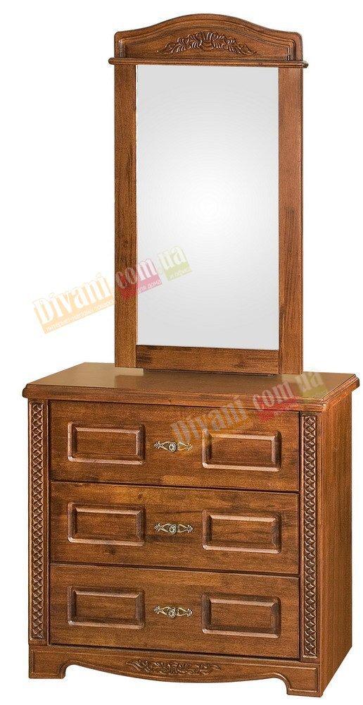 Туалетный столик с зеркалом Onder Metal Wood Beds DT 203 (D) w/o box