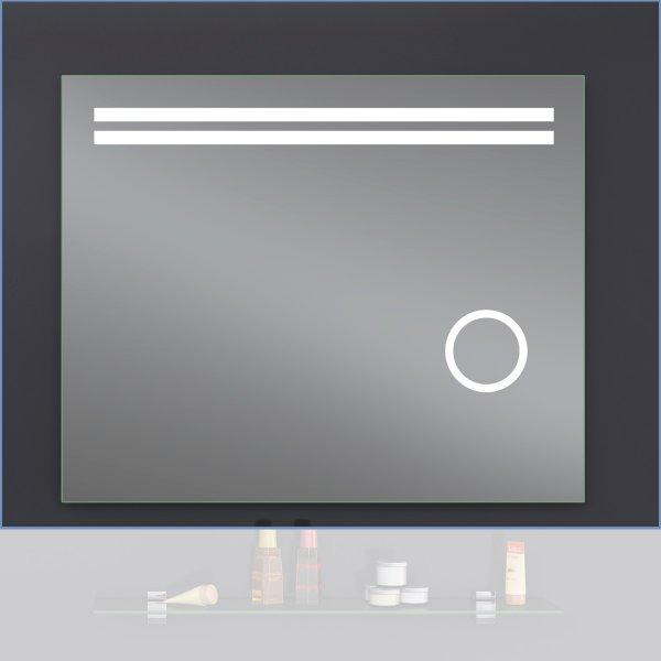 Зеркало Лава Делла 80х65 LED