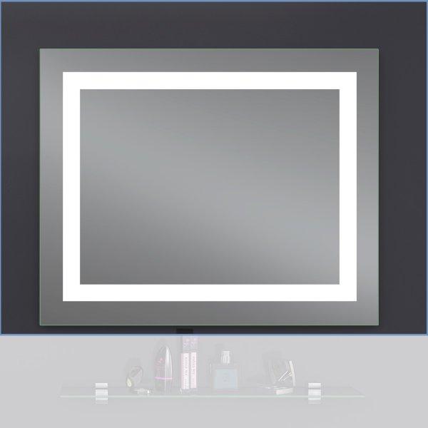 Зеркало Лава Квадра 100х65 LED