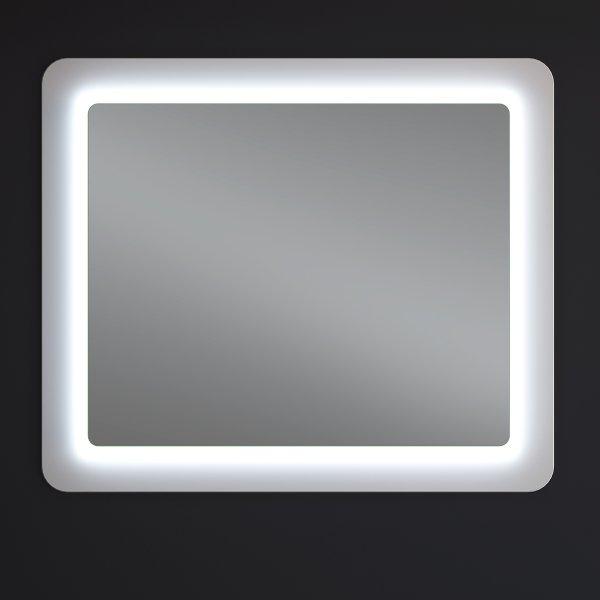 Зеркало Ультра Космо белое 98х83 LED