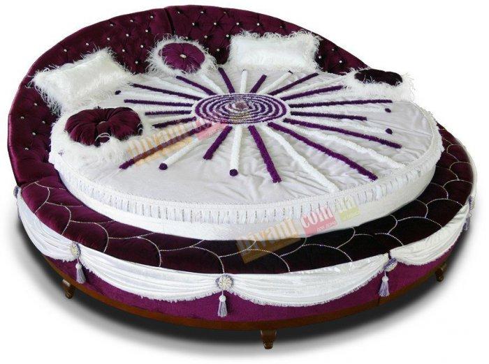 Двуспальная кровать Гламур