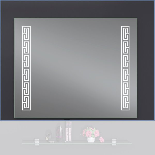 Зеркало Декор Верса 70х65 LED