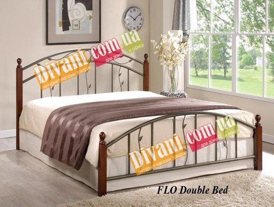 Двуспальная кровать  Flo (Фло) 200x160см