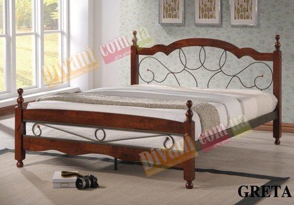 Двуспальная кровать  Greta (Грета) 200x160см