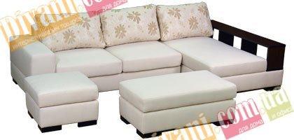 Угловой диван Мелани с мералатом без пуфов