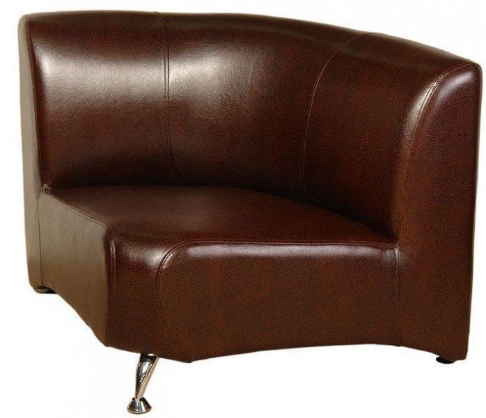 Офисный модульный диван Метро Внутренний угол