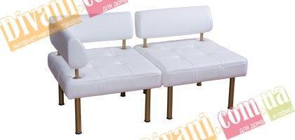 Офисный модульный диван Тетра Прямой сегмент