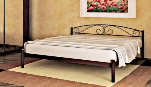 Двуспальная кровать Verona 1 - 180см без изножья