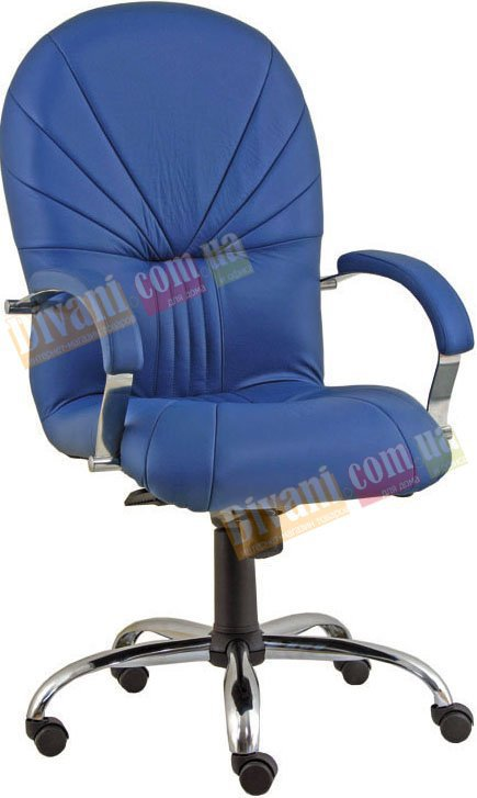 Кресло для руководителя Avrora steel chrome