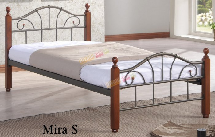 Односпальная кровать  Mira S (Мира С) 190x90см