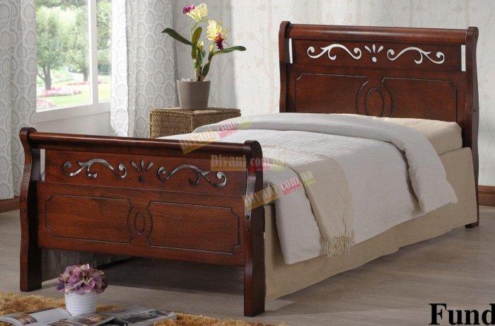 Односпальная кровать  Funda 200x90см