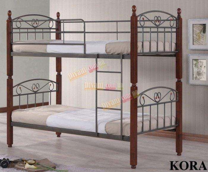 Кровать двухярусная DD Kora размер 190x90см