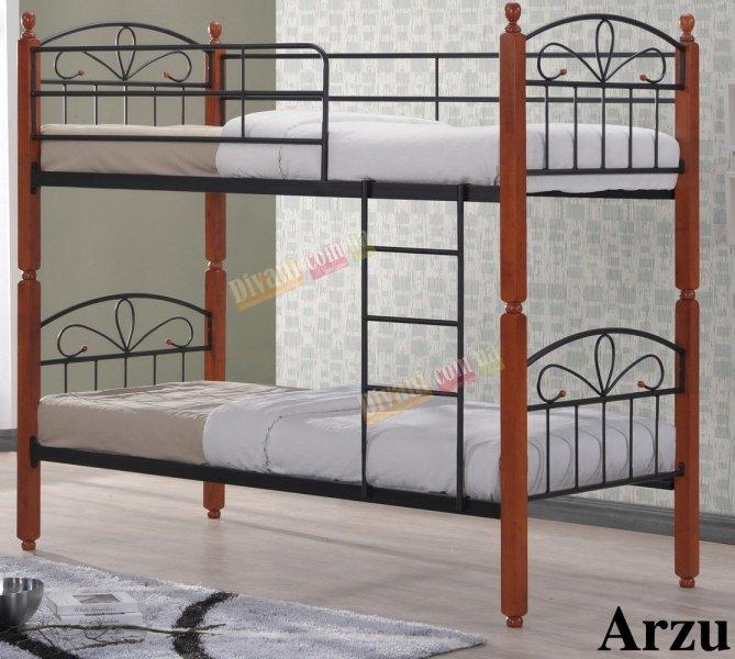 Кровать двухярусная DD Arzu (Азру) 190x90см