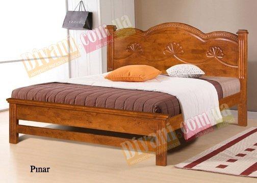 Двуспальная кровать Onder Metal Wood Beds Pinar (Пинар) 200x160см